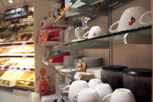 Amann Kaffee-Ecke der Bäckerei Krahl