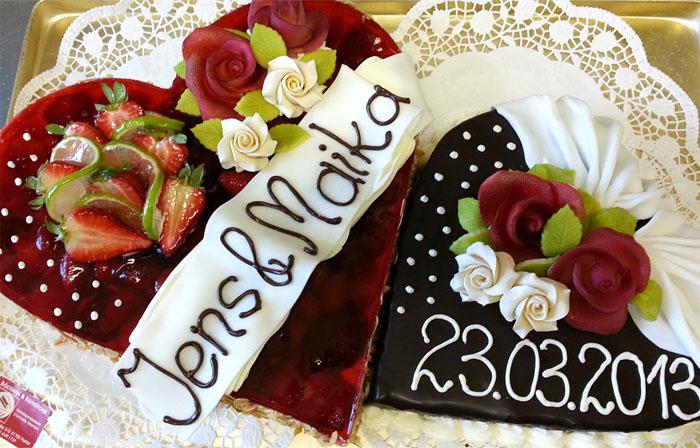 fruchtige Hochzeitstorten