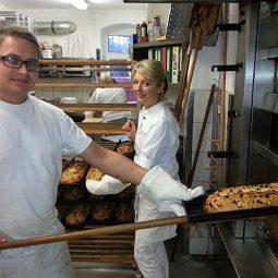 In der Stollenbäckerei