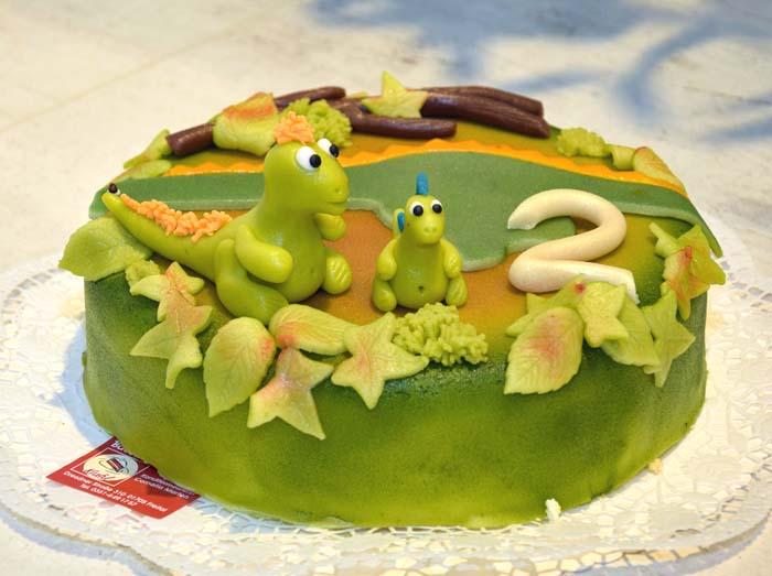 Dinotorte für Kids