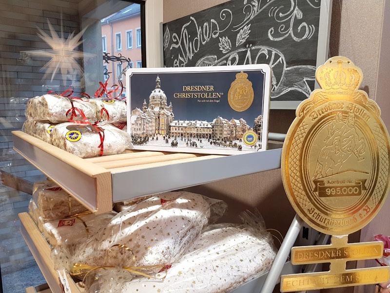 Dresdner Christstollen Bäckerei Krahl