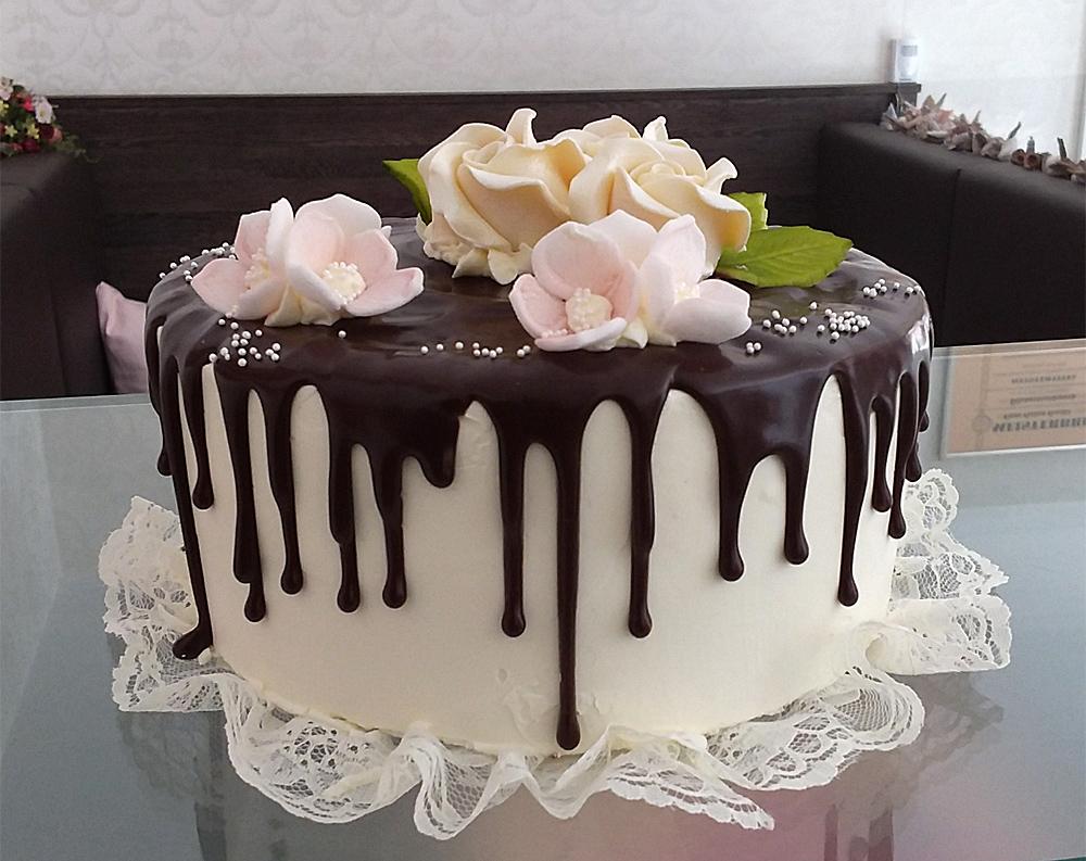 Drip Cake Geburtstagstorte