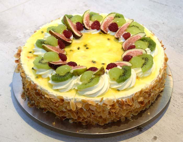 Exotic-Torte - Passionsfrucht-Batida