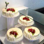 Hochzeitstorte mit Froschpaar 4-stöckig
