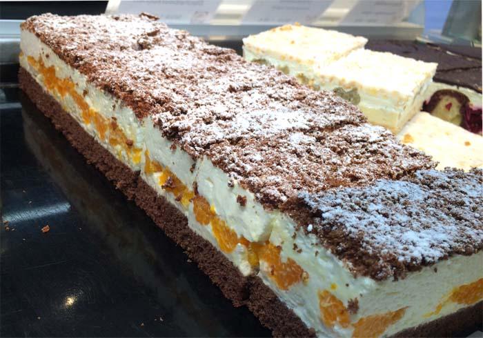 leckerer Kuchen vom Blech