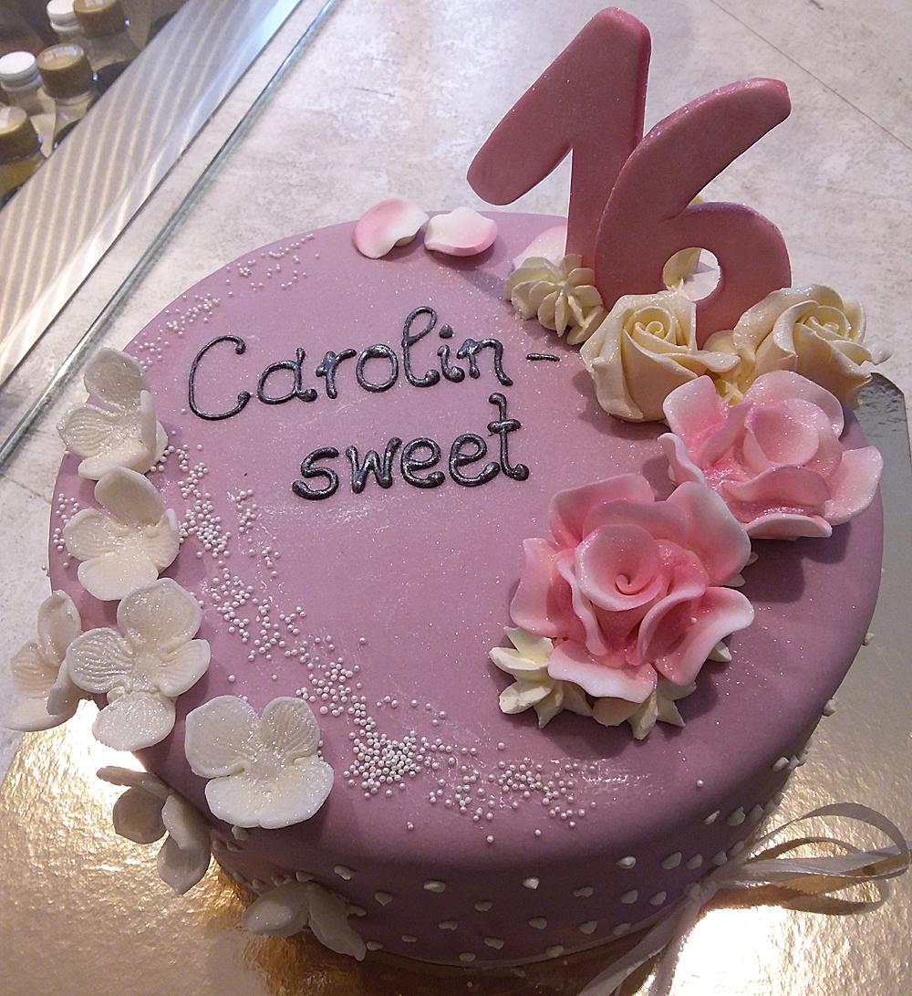 Geburtstagstorte Sweet 16